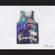 Snoop Dogg 12 Rasta Style Cosmic Space Basketball Jersey
