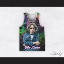 John Lennon 12 Cannabis Basketball Jersey