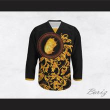 The Notorious B.I.G. Italian Style Black Hockey Jersey