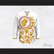 The Notorious B.I.G. Italian Style White Hockey Jersey