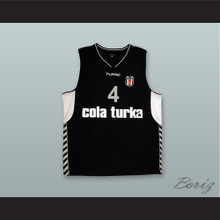 Allen Iverson 4 Cola Turka Basketball Jersey Stitch Sewn