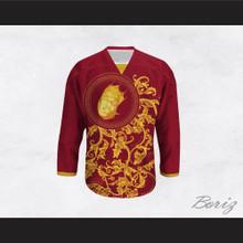 The Notorious B.I.G. Italian Style Red Hockey Jersey