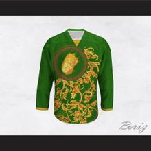 The Notorious B.I.G. Italian Style Green Hockey Jersey