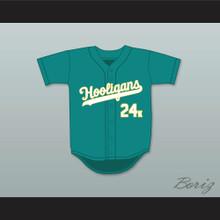 Mars 24K Hooligans Teal Baseball Jersey