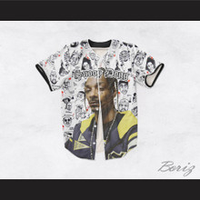 Snoop Dogg 45 Hip Hop Cartoon Legends Baseball Jersey