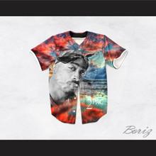 Tupac Shakur 13 Killuminati Beach Sunset Baseball Jersey