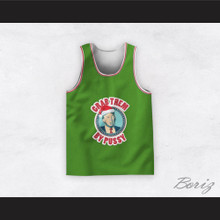 Donald Trump Grab Them By Pussy Christmas Green Basketball Jersey