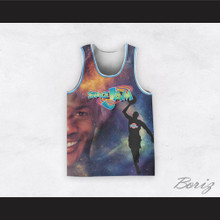 Michael Jordan 23 Space Jam Cosmic Basketball Jersey