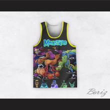 Monstars 0 Space Jam Dye Sub Graphics Basketball Jersey