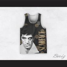 Tony Montana 11 Scarface Italian Style Basketball Jersey