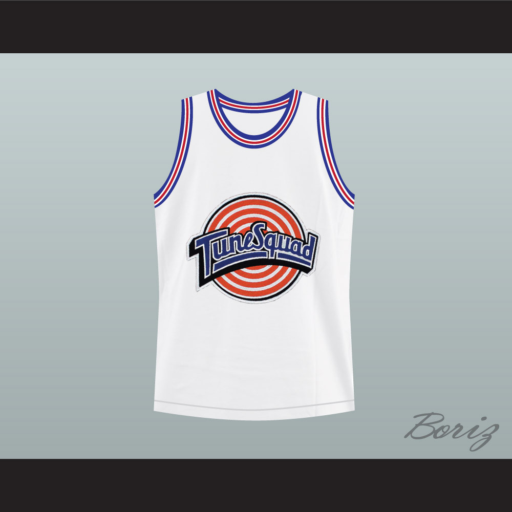 official photos d0bca a6b9f Michael Jordan Space Jam Tune Squad Basketball Jersey Any Player