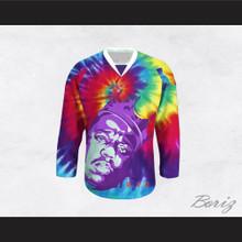 Biggie Smalls 60 Funky Tie Dye Style Hockey Jersey