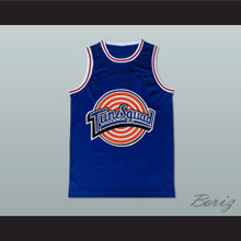 Michael Jordan Space Jam Tune Squad Basketball Jersey Blue