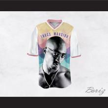 Tupac Shakur 24 Thugs Mansion Circles Pattern Design Football Jersey