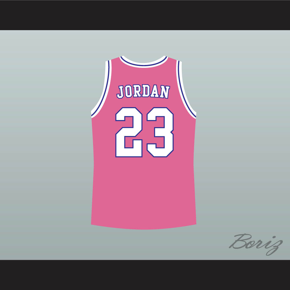 3f6c5fac6a796e Michael Jordan Space Jam Tune Squad Basketball Jersey Pink. Price   45.99.  Image 1. Larger   More Photos