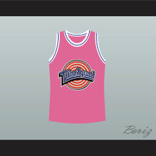 Michael Jordan Space Jam Tune Squad Basketball Jersey Pink