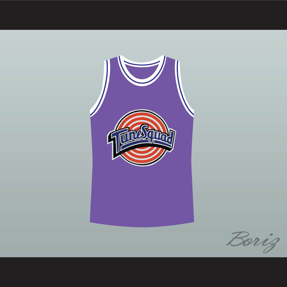online store 2f961 afe42 Michael Jordan Space Jam Tune Squad Basketball Jersey Purple