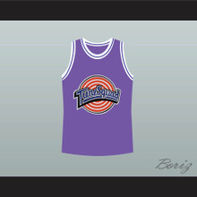 Michael Jordan Space Jam Tune Squad Basketball Jersey Purple