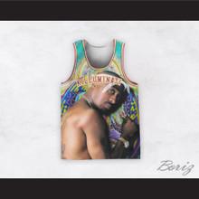 Tupac Shakur 16 Killuminati Funky Glyphs Basketball Jersey