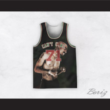 Tupac Shakur 71 Can't C Me Black Basketball Jersey