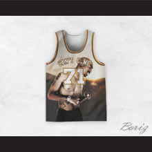 Tupac Shakur 71 Can't C Me Car in the Meadow Basketball Jersey