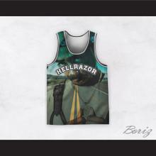 Tupac Shakur 6 Hellrazor Country Road Basketball Jersey