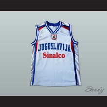 Yugoslavia Basketball Jersey Stitch Sewn Any Player or Number