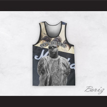 Biggie Smalls 21 Sky's The Limit Speaker Basketball Jersey