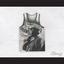 Biggie Smalls 21 Everyday Struggle Recording Eyeball Basketball Jersey