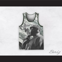 Biggie Smalls 21 Everyday Struggle Recording Dollar Bill Basketball Jersey