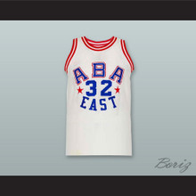 Julius Erving 32 All Star Basketball Jersey New Any Size