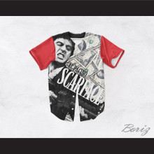 Al Pacino Tony Montana 8 Scarface Money Baseball Jersey