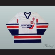 Marko Kovacevic 19 Yugoslavia International Hockey Jersey