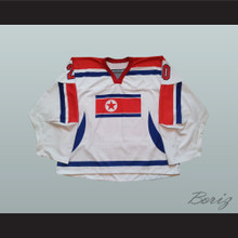 P. Il 20 North Korea International Hockey Jersey