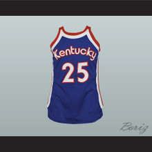 Kentucky Tom Owens 25 Old School Basketball Jersey Stitch Sewn New