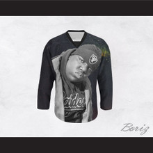 Biggie Smalls 21 Outer Space Hockey Jersey