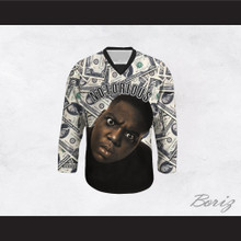 Notorious B.I.G. 21 Money Hockey Jersey