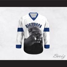 Big Poppa B.I.G. 21 White Hockey Jersey