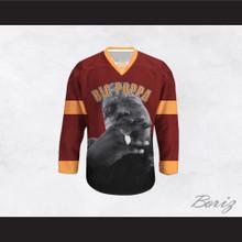 Big Poppa B.I.G. 21 Maroon Hockey Jersey