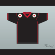 The Shogun of Harlem Sho' Nuff 85 Black Football Jersey