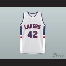 Kevin Love Lake Oswego Lakers High School Basketball Jersey White Stitch Sewn