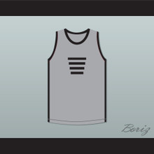 Johnny Yu 85 The Last Dragon Grey Jersey