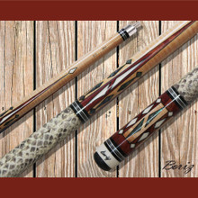 Boriz Billiards Pool Cue Stick Classic Style Serpent Skin AB 115