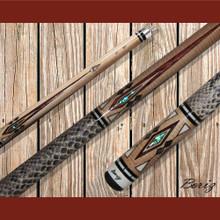 Boriz Billiards Pool Cue Stick Classic Style Serpent Skin AB 131