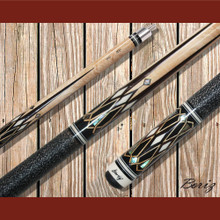 Boriz Billiards Pool Cue Stick Classic Style Linen Grip AB 166