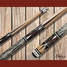Boriz Billiards Pool Cue Stick Classic Style Serpent Skin AB 171
