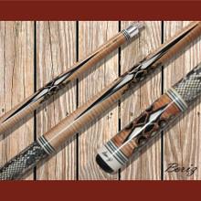 Boriz Billiards Pool Cue Stick Classic Style Serpent Skin AB 177