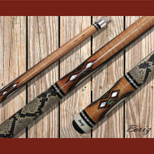Boriz Billiards Pool Cue Stick Classic Style Serpent Skin AB 181