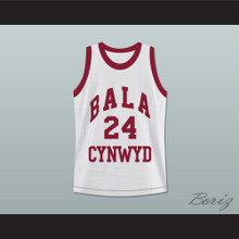 Kobe Bryant 24 Bala Cynwyd Middle School Basketball Jersey White Stitch Sewn