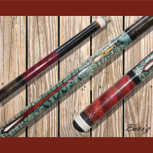 Boriz Billiards Pool Cue Stick Serpent Skin Style SS 007